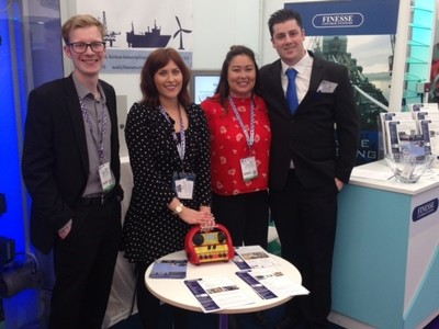 Some of the Finesse team at Offshore Europe 2017